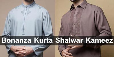 Bonanza Kurta Shalwar Kameez Designs for Men & Prices
