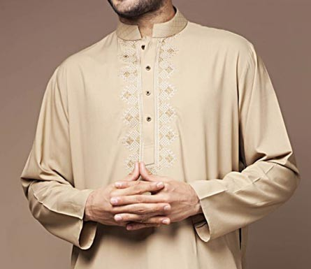 Bonanza Kurta Shalwar Kameez Prices Summer Winter Designs 2015 Men PKR-3,184.00