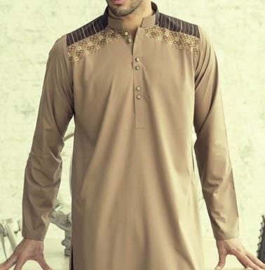 Bonanza Kurta Shalwar Kameez Prices Summer Winter Designs 2015 Men PKR-3,504