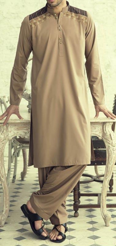 Bonanza Kurta Shalwar Kameez Prices Summer Winter Designs 2015 Men PKR-3,504