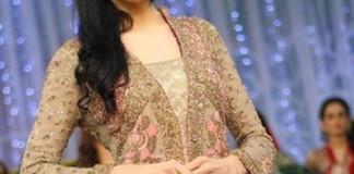 Fashion Week 2015 Pakistan, Wedding Dresses Open Style Tail Gown