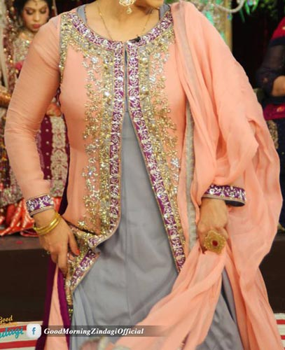 Fashion Week In Pakistan 2015 Stylish Bridal Wedding Dresses
