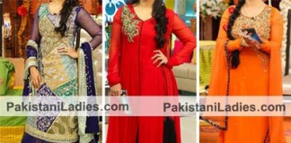Fashion Week in Pakistan 2015, Stylish Bridal Wedding Dresses