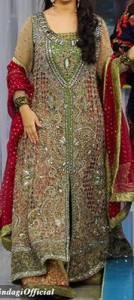 Good Morning Zindagi With Noor A Plus Dresses Designs, Open Style Tail Gown Frock 2015