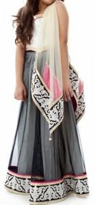 Kids-Girls-Sharara-2015-Lehenga-Choli-Party-Wedding-Dress-Suits