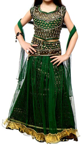 Latest-Girls--Kids-Girls-Sharara-2015-Lehenga-Choli-Party-Wedding-Dress-Suits