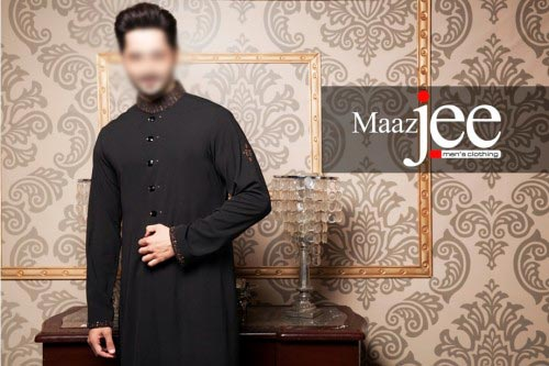 New-Stylish-Danish-Taimoor-Men-Kurta-Designs-by-MaazJee-2015-Shlawar-Kameez