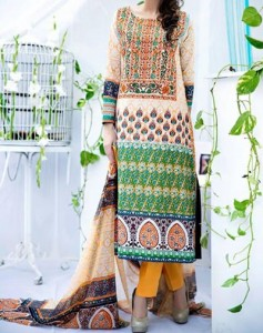 Amna Ismail Lawn 2015 Shalwar Kameez Designs Fashion Girls