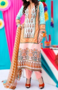 Amna Ismail Lawn 2015 Shalwar Kameez Designs Fashion Women