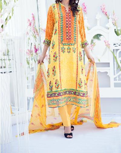 Amna Ismail Lawn 2015 Shalwar Kameez Designs Fashion