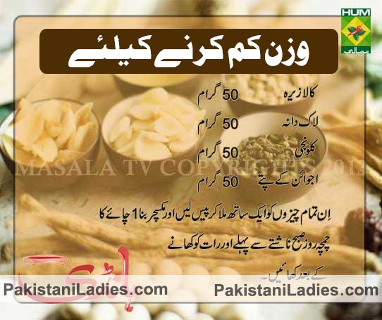 Hakeem Shah Nazir Herbalist Tips For Weight Loss in Urdu ...
