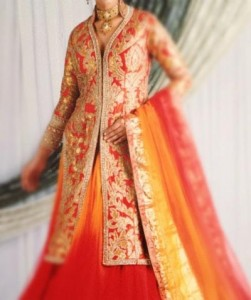 Wedding Sherwani Suits Designs for Women in India