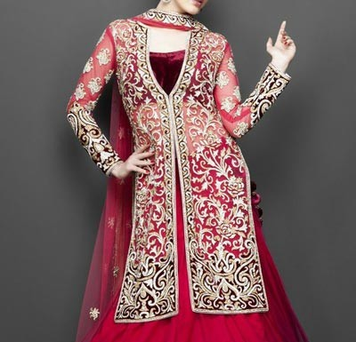 Wedding Sherwani Suits Designs for Women in India Pakistan