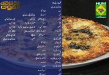 FlatBread Pizza Recipe in Urdu & English - Dawat Masala TV