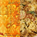 Hyderabadi Biryani Recipe by Zubaida Tariq in Urdu English