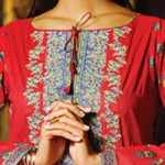 Lawn Summer Dresses Neck, Cotton Suits Gala Designs 2015 Kameez