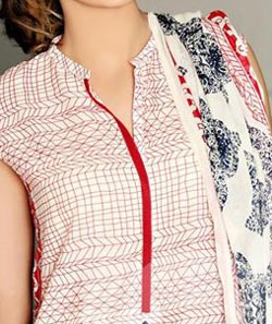 Lawn Summer Dresses Neck, Cotton Suits Gala Designs 2015 Kurti