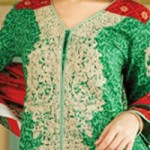 Lawn Summer Dresses Neck, Cotton Suits Gala Designs 2015 Salwar Kameez
