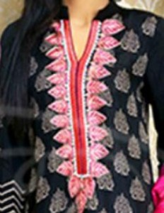 Lawn Summer Dresses Neck, Cotton Suits Gala Designs 2015 Salwar Kameez Kurta