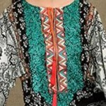 Lawn Summer Dresses Neck, Cotton Suits Gala Designs 2015 Salwar Kameez Kurtas