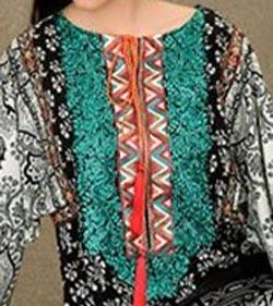 Lawn Summer Dresses Neck, Cotton Suits Gala Designs 2015 Salwar Kameez Kurtas