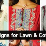New Lawn Summer Dresses Neck, Cotton Suits Gala Designs