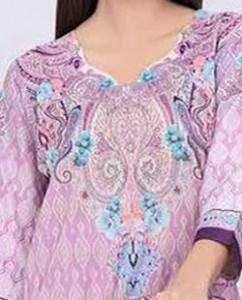 Simple Lawn Summer Dresses Neck, Cotton Suits Gala Designs 2015 Salwar Kameez