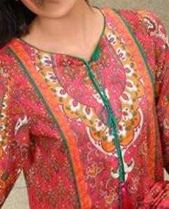 Simple Lawn Summer Dresses Neck, Cotton Suits Gala Designs 2015 Salwar Kameez 8