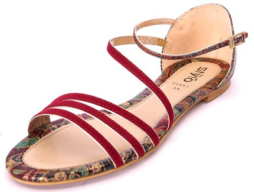 Stylo Shoes Summer Collection 2015 Prices Sandals, Flat Sandal 1,290