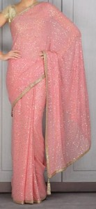 Manish Malhotra Sarees Collection New Arrivals Sari Designs Pink 2015