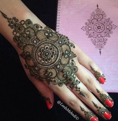 New EID Arabic Mehndi Designs for Hands Pakistani Indian 2015 2016