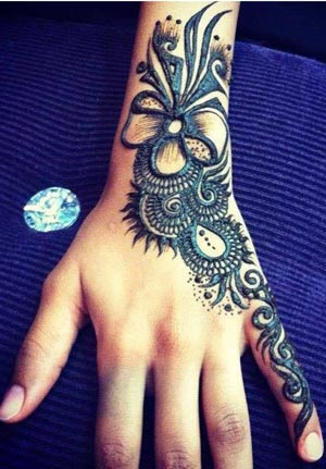 New EID Arabic Mehndi Designs for Hands Pakistani Indian Simple