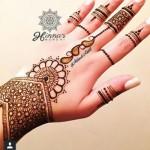 New EID Arabic Mehndi Designs for Hands Pakistani Indian
