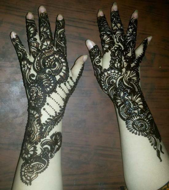 Arabic Mehndi Designs For Hands 2016 Free Download for Bridals