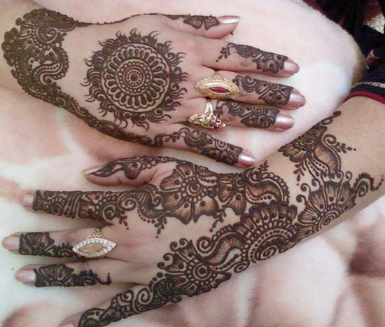 Beautiful Arabic Mehndi Designs For Hands 2016 Free Download for Bridals