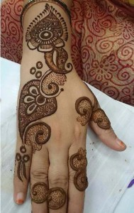 Simple Arabic Mehndi Designs For Hands 2016 Free Download for Bridals