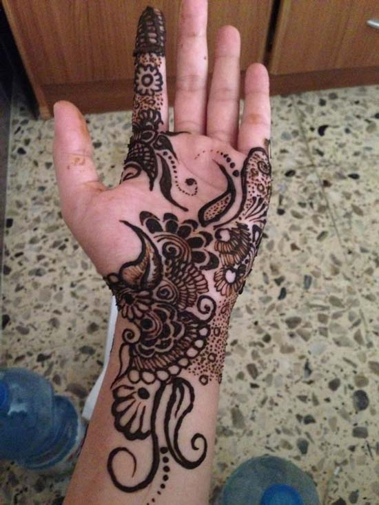 Stylish and Unique Arabic Mehndi Designs For Hands 2016 Free Download for Bridals