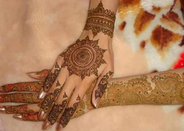 Mehndi Designs For Dulha : Latest new bridal or dulhan mehndi designs for full hands