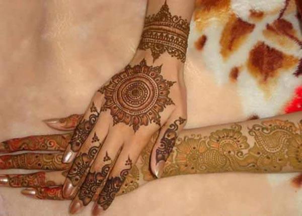 Bridal Mehndi New Latest Design : Latest new bridal or dulhan mehndi designs for full hands