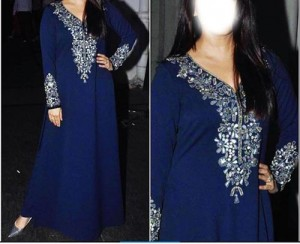 Beautiful Manish Malhotra Dresses Designs 2016 Long Salwar Kameez Suit Winter Collection