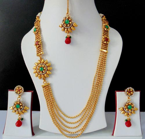 Latest Indian Gold Jewellery Sets Designs For Bridal 2016