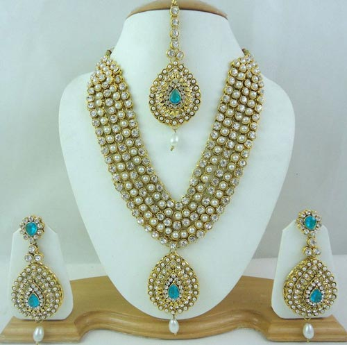 Latest Indian Jewellery Designs 2015: Latest Indian Gold Jewellery Sets Designs For Bridal 2016