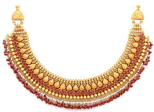 Jewelry-Gold-and-Ruby-Bridal-Necklace-2016