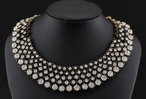 Jewelry Indian 2016 Diamond Choker Necklace