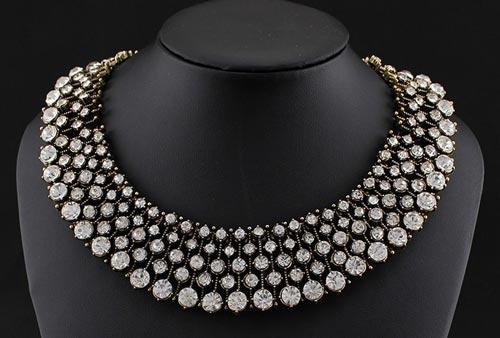 Jewelry Indian 2016 Diamond Choker Necklace