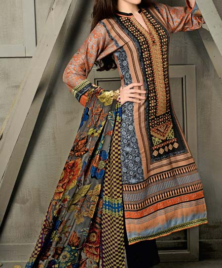 Latest New Salwar Kameez Kurti Suit Designs 2016 Indian Pakistani Gul Ahmed