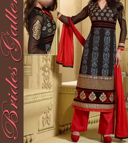Latest New Salwar Kameez Kurti Suit Designs 2016 Indian