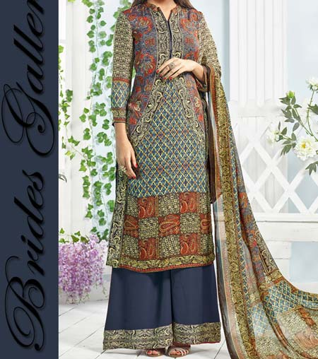Latest New Salwar Kameez Plazo Kurti Suit Designs 2016 Indian Pakistani
