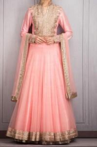 Manish Malhotra Dresses Designs 2016 Long Salwar Kameez Suit Winter Collection