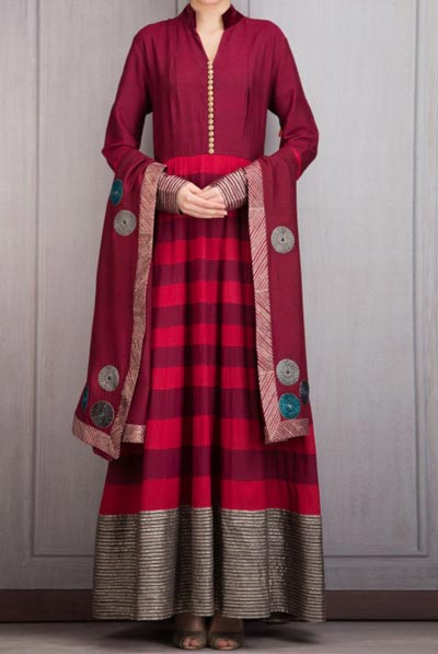 Manish Malhotra Dresses Designs 2016 Long Salwar Kameez Suits Winter Collection